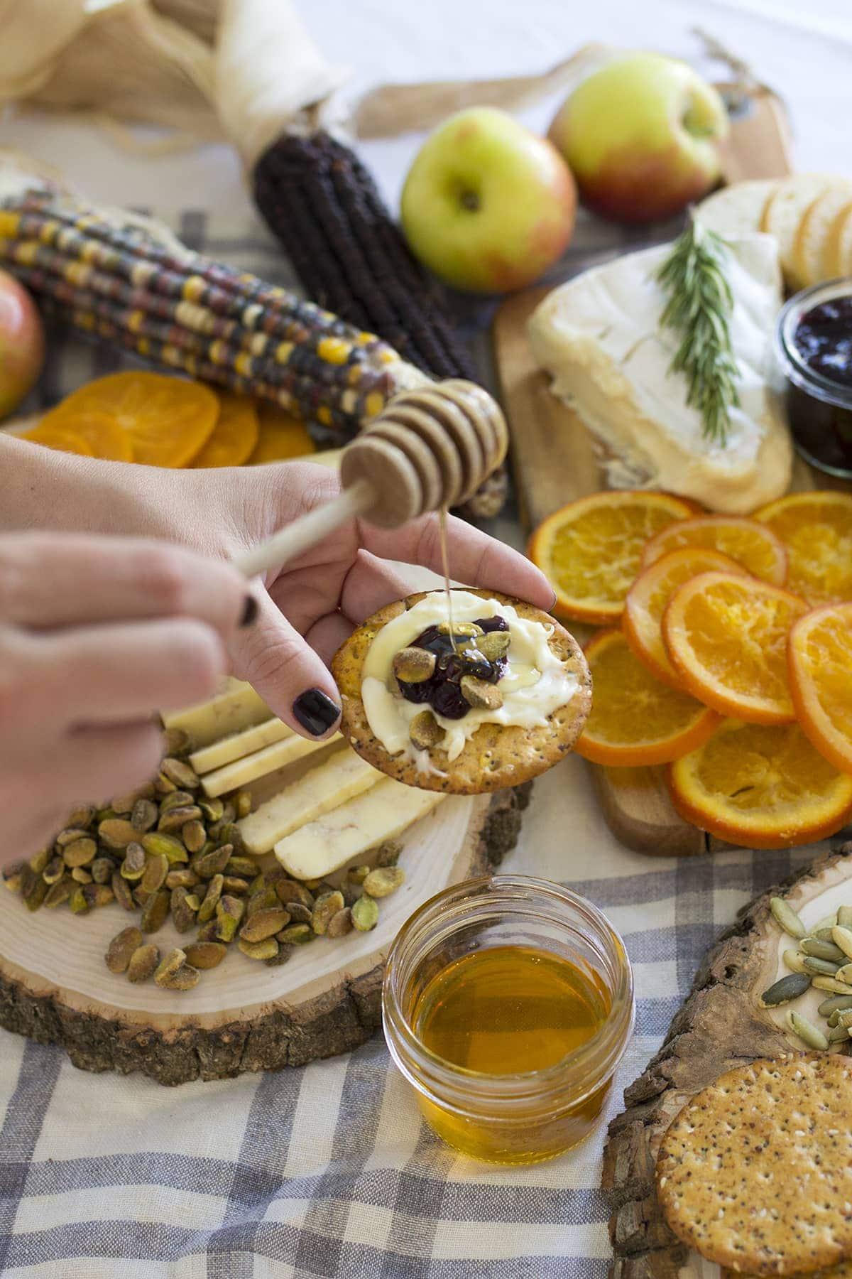 Fall Inspired Cheese Board