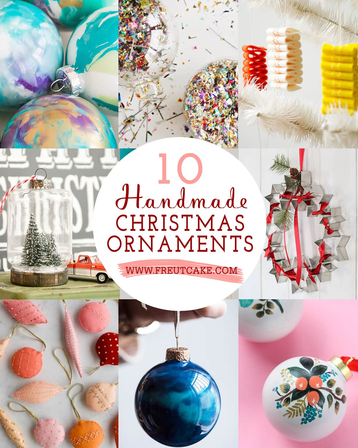 10 Handmade Christmas Ornaments