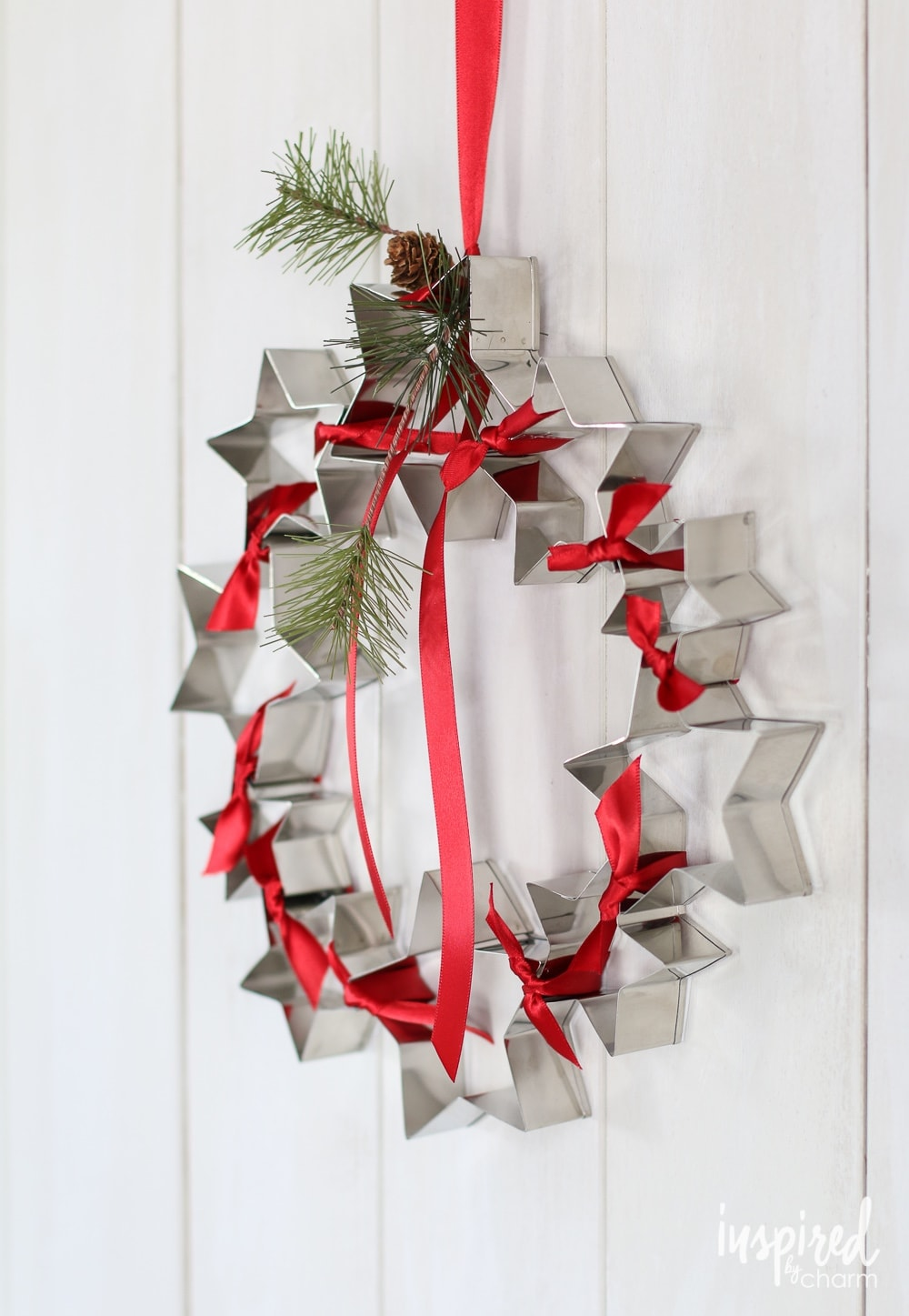 Cookie Cutter Wreath Tutorial