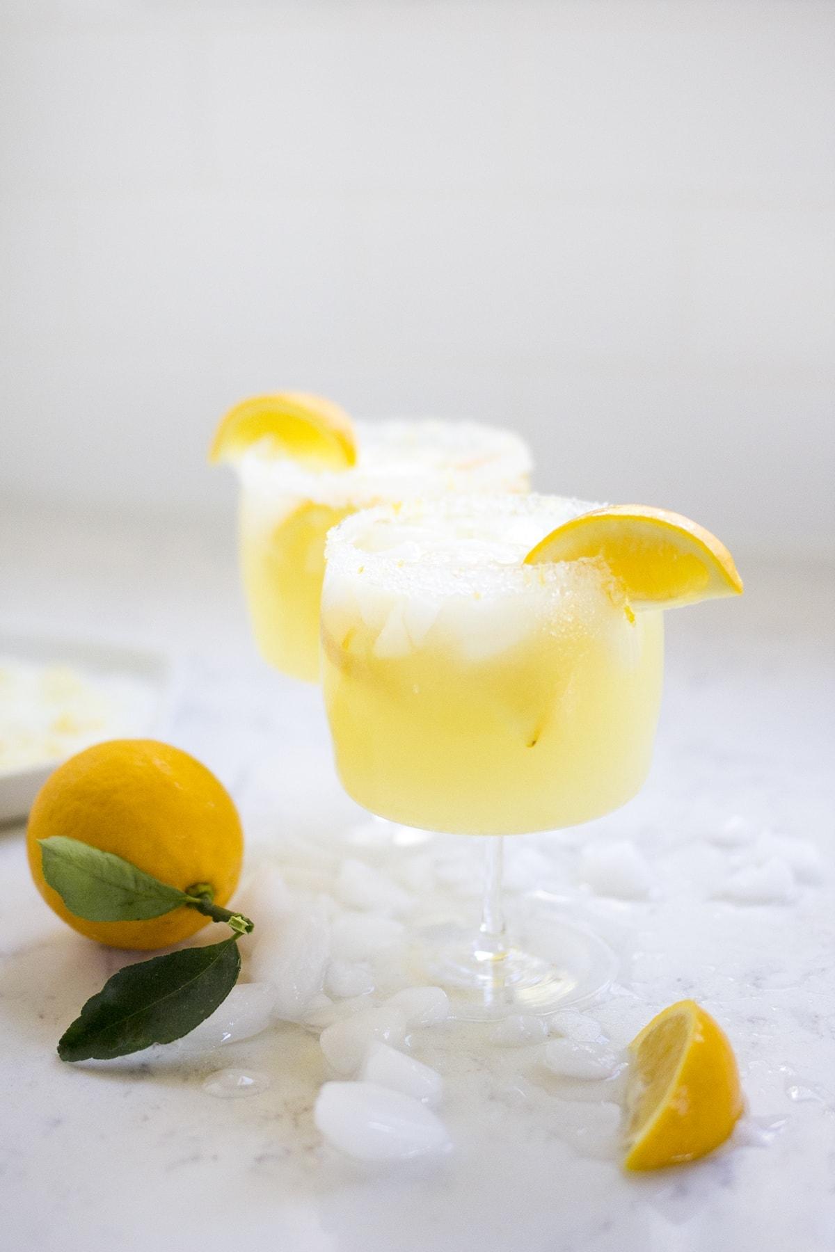 Meyer Lemon Margarita
