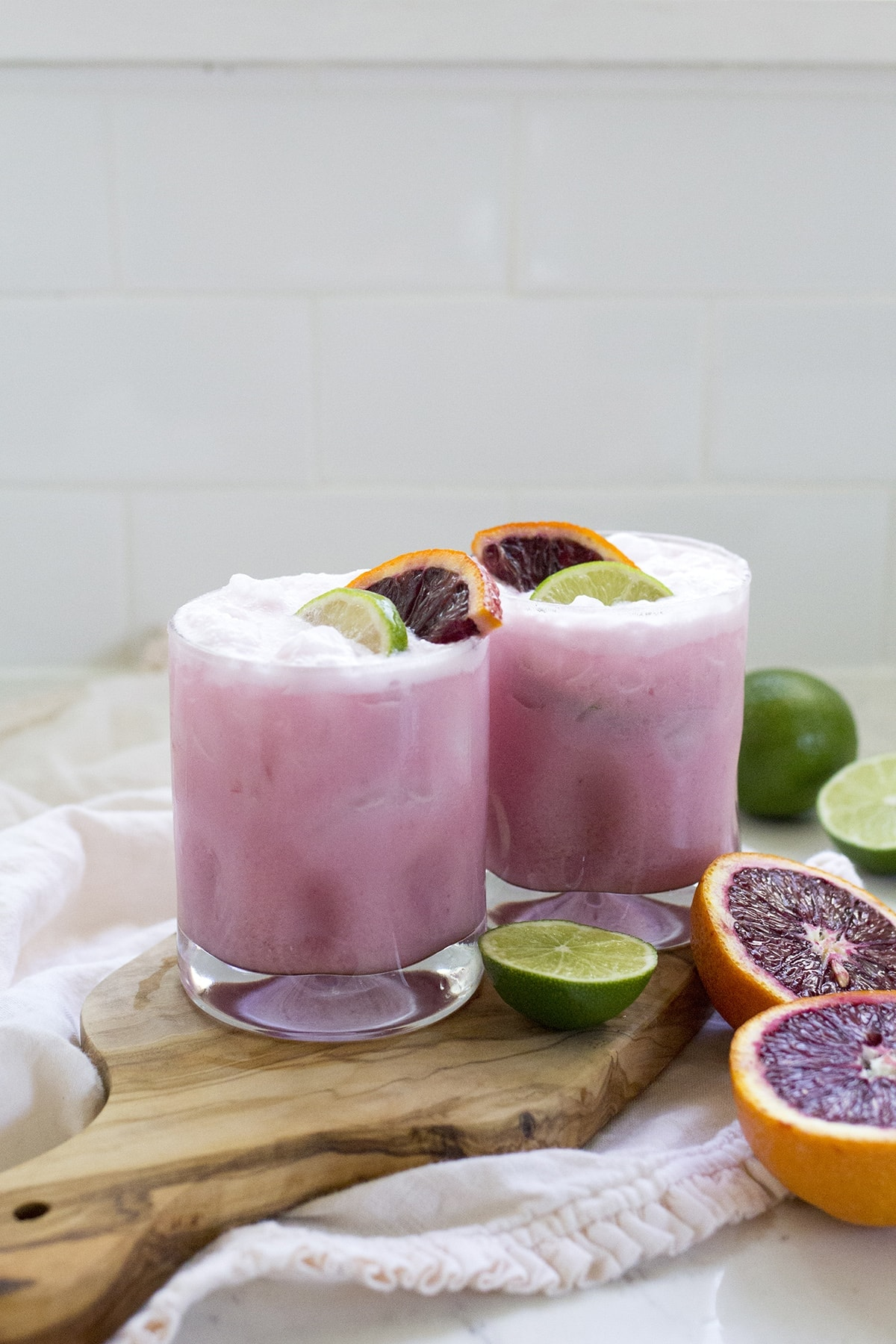 Coconut Blood Orange Margarita