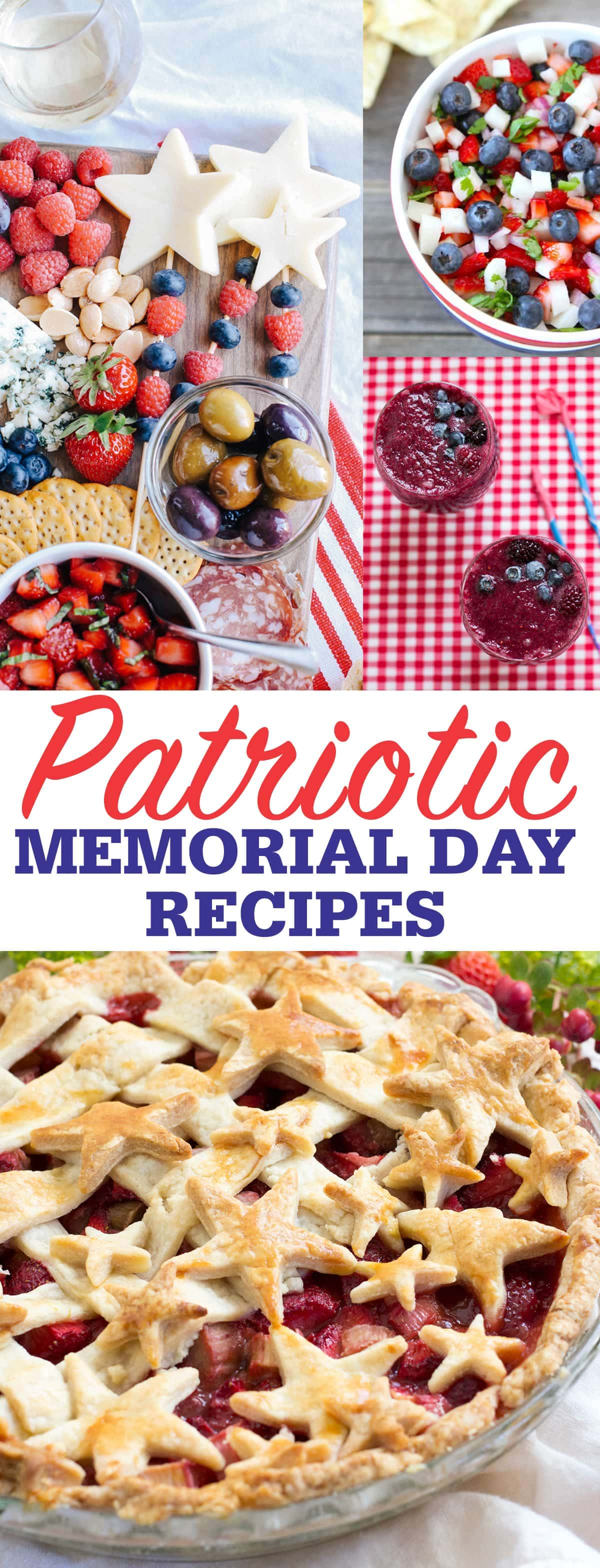 Patriotic Memorial Day Recipes