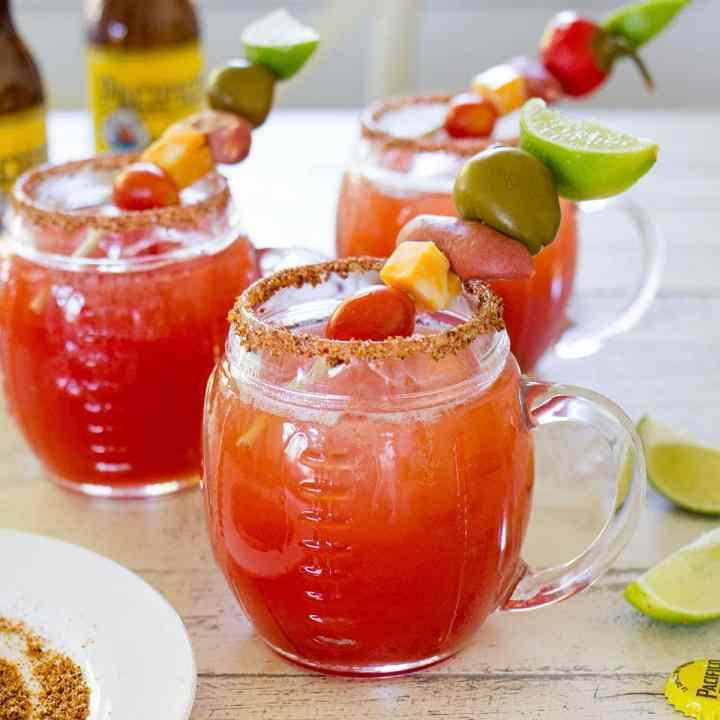 Big Batch Michelada Cocktails