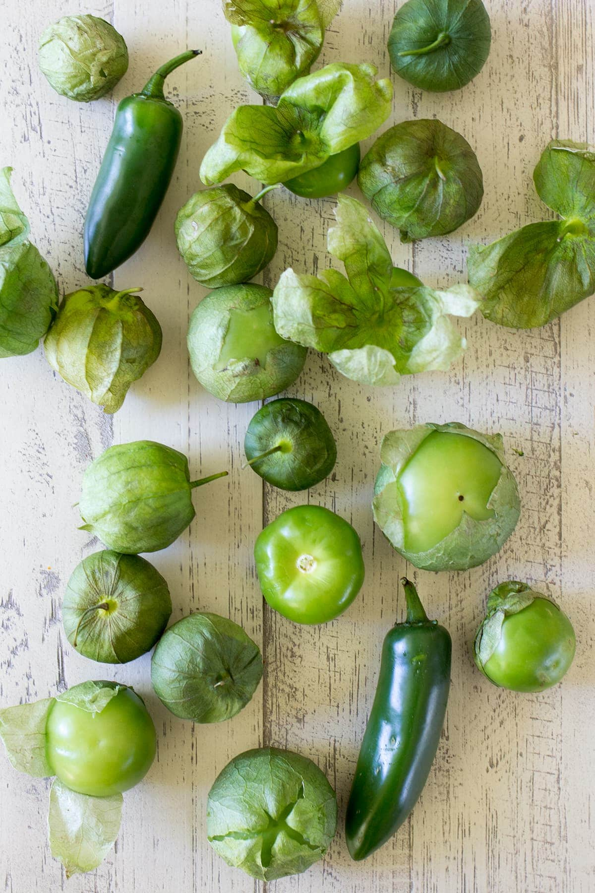Roasted Tomatillo and Jalapeño Salsa
