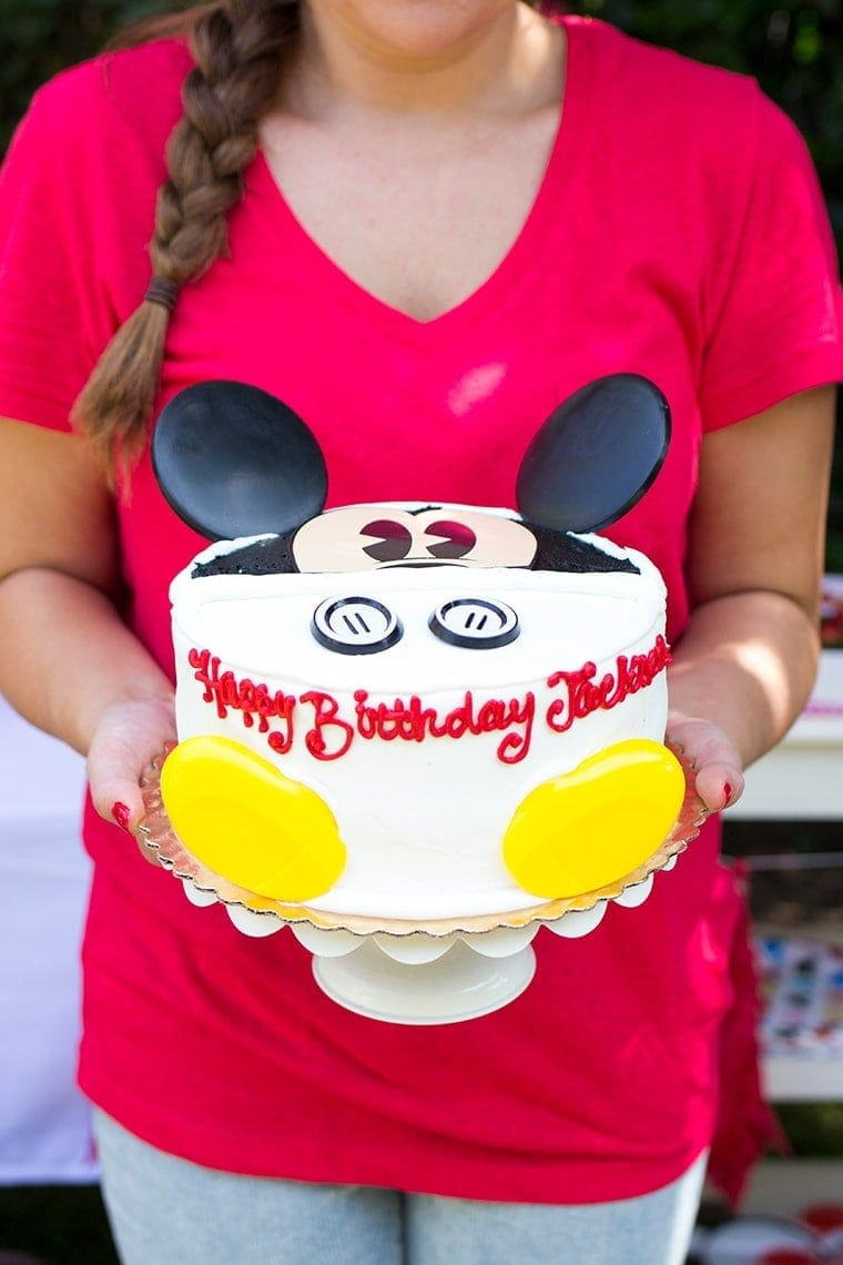 Twin's Mickey & Minnie Mouse Themed Birthday Party • Freutcake