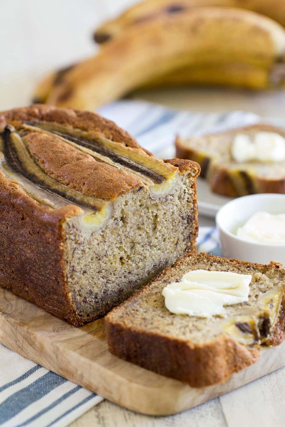The Best Sour Cream Banana Bread