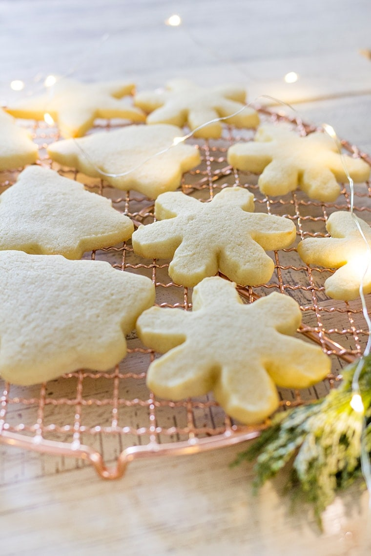 Classic Frosted Cutout Sugar Cookies