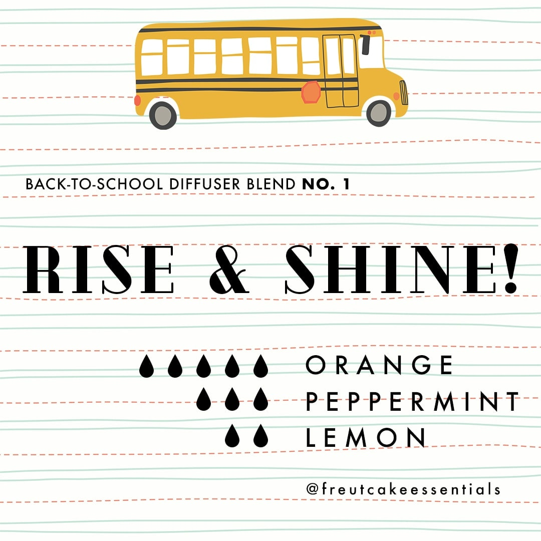 Back to School Diffuser Blend Young Living Essential Oils