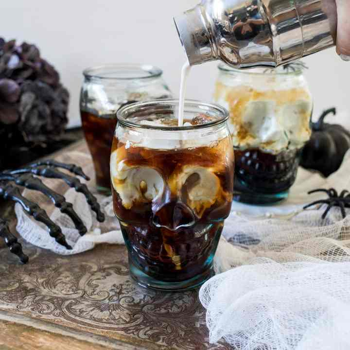 Halloween Coconut White Russians