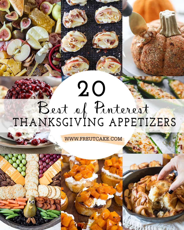 20 Best Of Pinterest Thanksgiving Appetizers • Freutcake