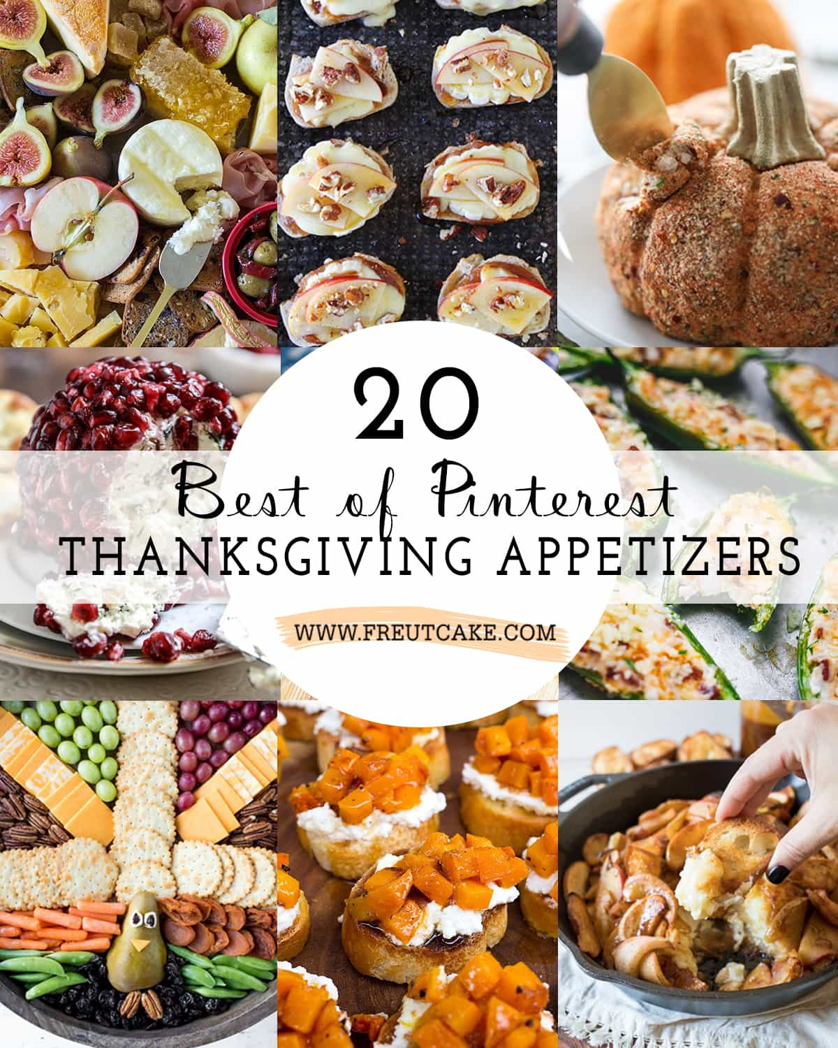 20 Best of Pinterest Thanksgiving Appetizers