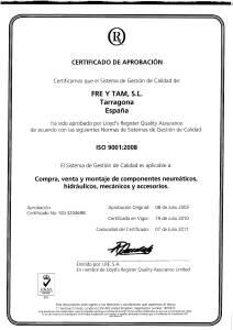 CERTIFICADO ISO 9001-2008-1 - Freytam