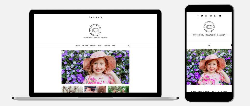 Katie McVie Photography Responsive Web Design