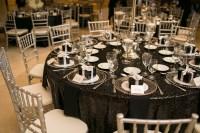 Black Tablecloth Wedding Reception Gallery - wedding theme ...