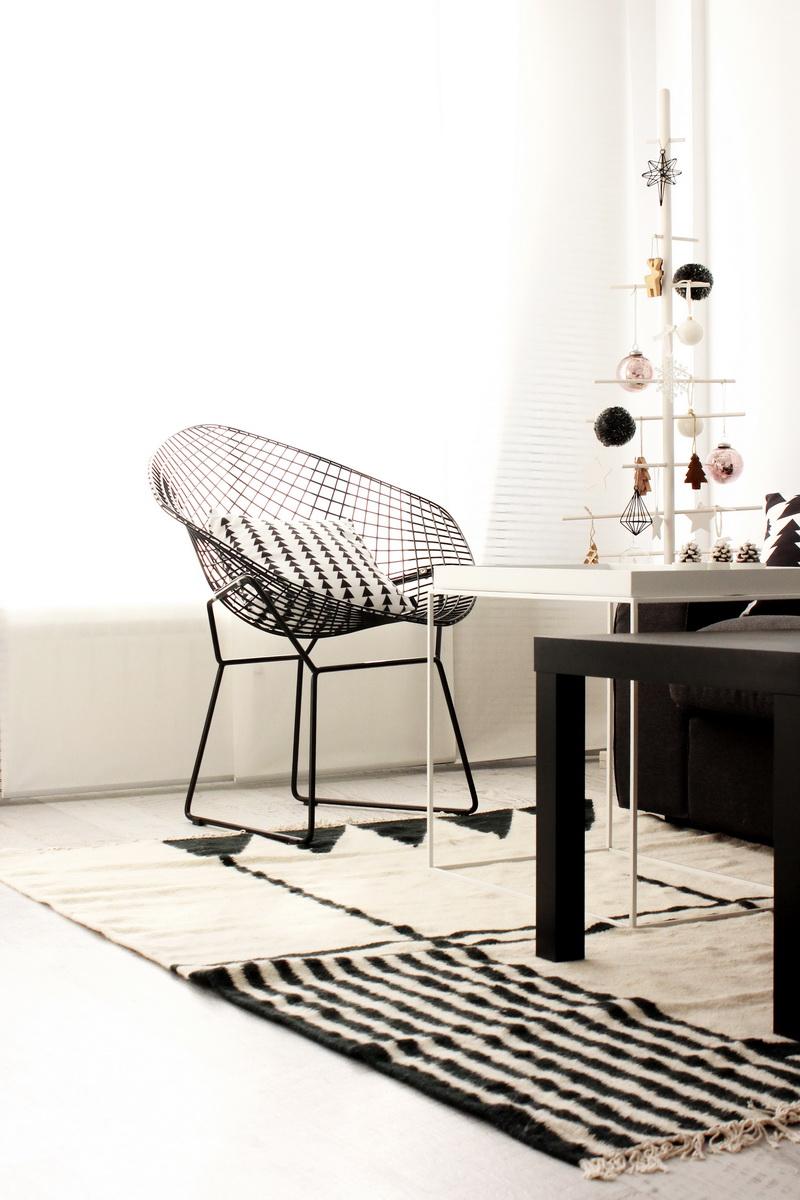 frichic at home ferm living kelim rug. Black Bedroom Furniture Sets. Home Design Ideas