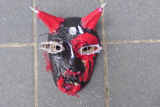 03- Halloween Maske Teufel