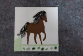Quilling Pferd