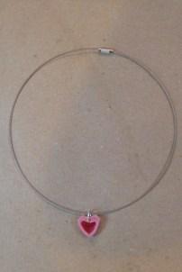 14_Quilling Halskette aus Altpapier