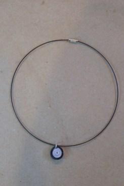 17_Quilling Halskette aus Altpapier