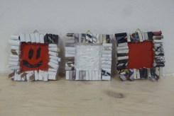 DIY_Bilderrahmen_Kunst_Papier_Zeitschriften_Recycling_basteln_Kinder_FRICKELclub_Offenbach_externe AG_Erasmus (10)