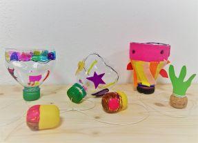 Upcycling_DIY_PET Flaschen_Geschicklichkeitsspiel_Kinder_FRICKELclub (11)