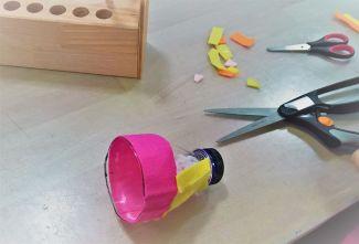 Upcycling_DIY_PET Flaschen_Geschicklichkeitsspiel_Kinder_FRICKELclub (2)