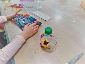 Upcycling_DIY_PET Flaschen_Geschicklichkeitsspiel_Kinder_FRICKELclub (3)