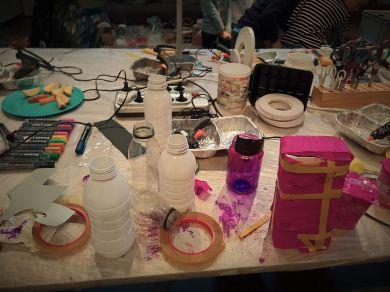 FRICKELclub_Halloween_Recycling_Tages_Workshop_Bastelaktionen (14)