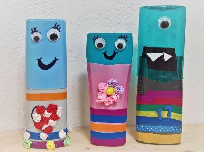FRICKELclub_Recycling_DIY_Kinder_PET_Flaschen_Stifte_Etui (11)