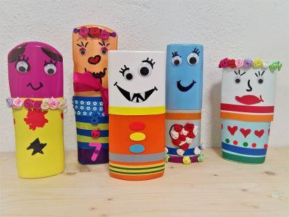 FRICKELclub_Recycling_DIY_Kinder_PET_Flaschen_Stifte_Etui (7)