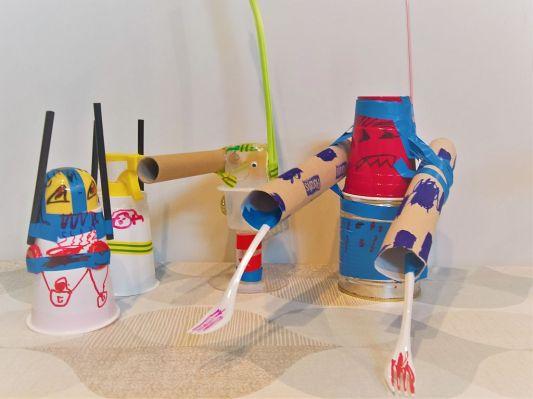 FRICKELclub_Recycling_Geburtstagsbasteln_Kinder_Ninjago_Spinjitzu_Aliens_Roboter_Fahrzeuge (2)