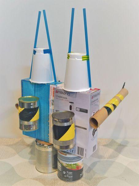 FRICKELclub_Recycling_Geburtstagsbasteln_Kinder_Ninjago_Spinjitzu_Aliens_Roboter_Fahrzeuge (8)
