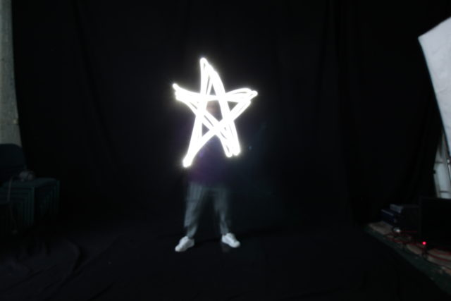 image of light painting