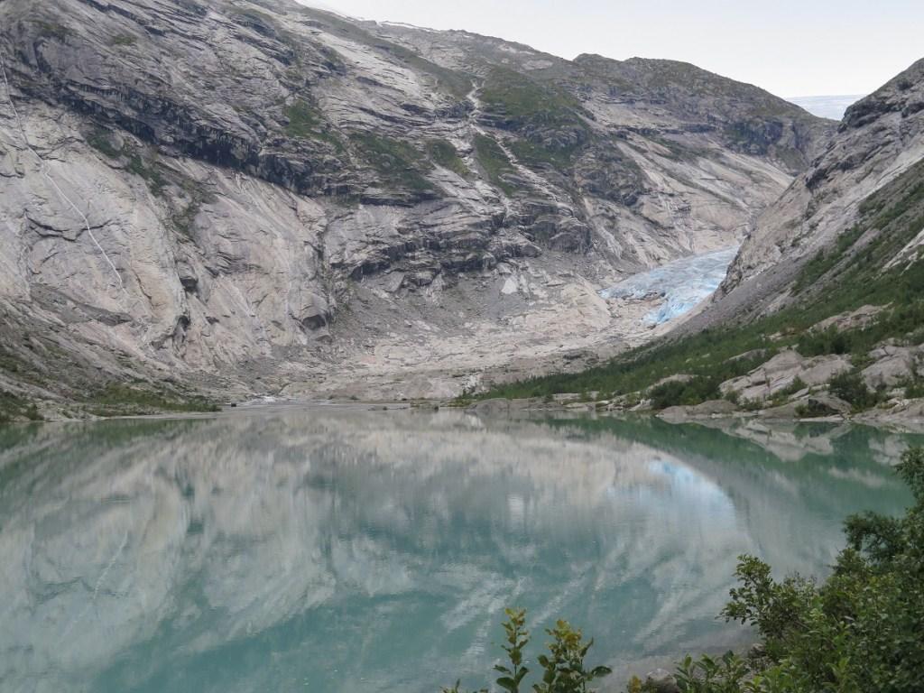 image of tip of glacier jostedal