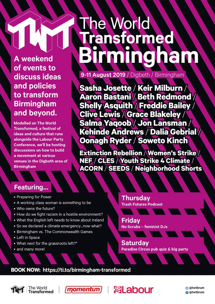 The World Transformed brum poster
