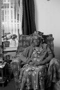 photo of Jean Douglas in her armchair
