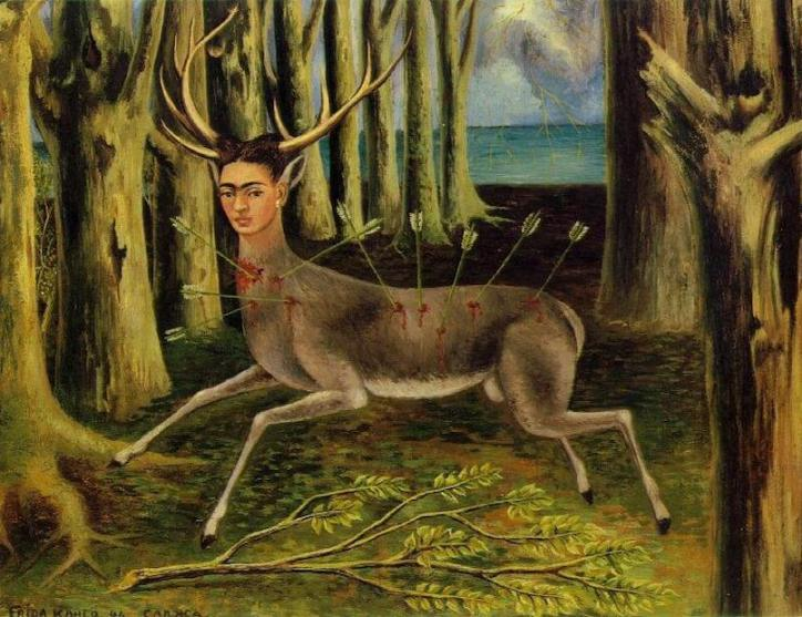 Art and Fashion Frida Kahlo The Wounded Deer 1946