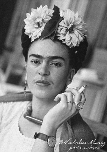 Frida Kahlo Self Portrait Loose Hair