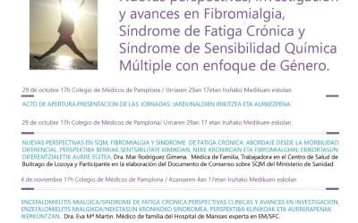 IV Jorndas Frida – Nuevas perspectivas investigacion y avances en FM, SFC y SSQM con enfoque de genero.