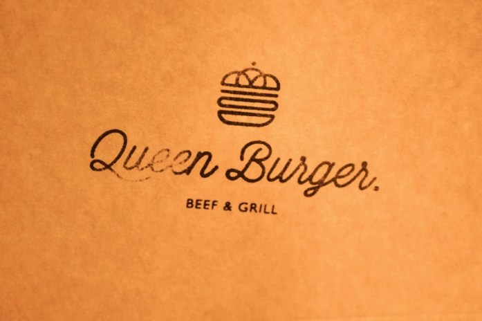 Queen Burger Logo and Font Warsaw