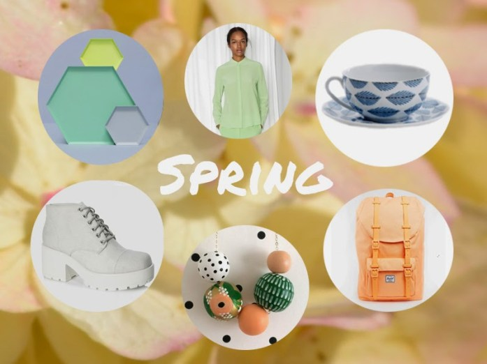 spring scandi style 2015 collage