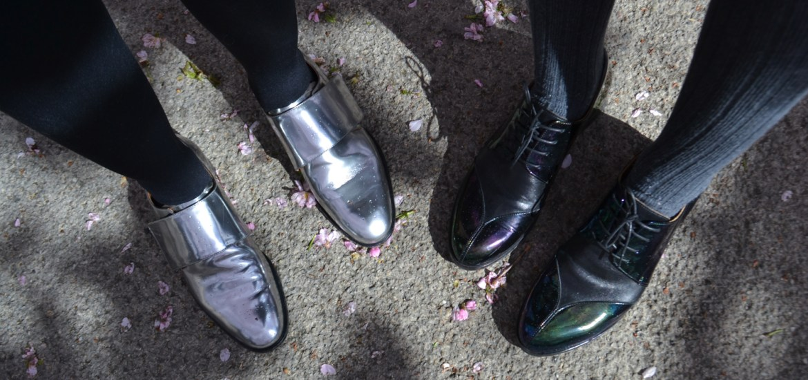 & other stories metallic shoes