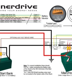 enerdrive battery monitor connections enerdrive xantrex battery monitor fitting tips and hints xantrex battery monitor wiring [ 1300 x 894 Pixel ]