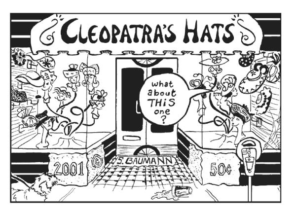 Cleopatra's Hats