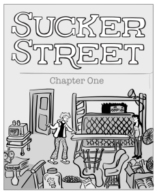 Sucker Street chapter 1 cover