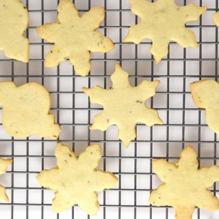 Lemon Rosemary Shortbread Cookies - Fridge to Fork