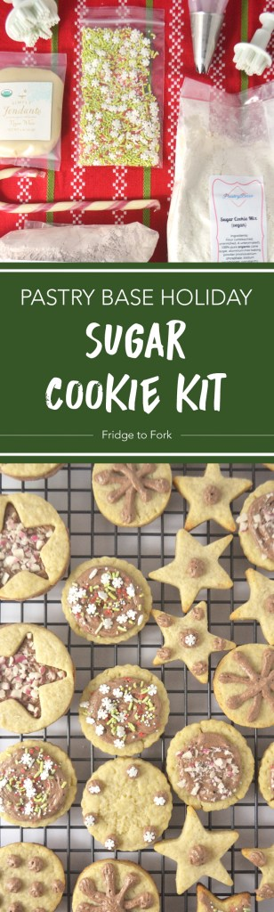 Pastry Base Holiday Sugar Cookie Kit - Fridge to Fork
