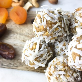 Apricot Energy Balls - Fridge to Fork