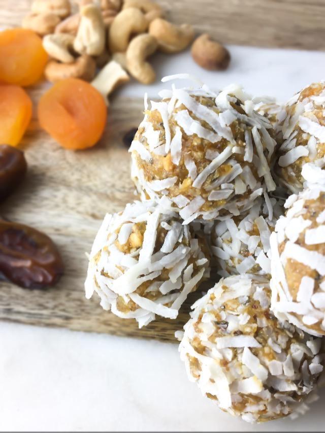 Apricot Energy Balls - Fridge to Fork