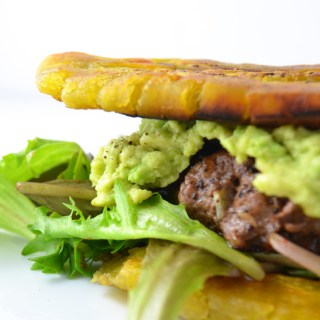 Jibarito - Plantain Burger (Whole30 + Paleo) - Fridge to Fork